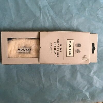 Hunter Boots Insoles Kids real fur size 1