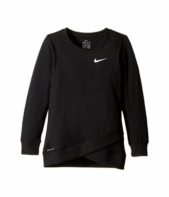 Nike Youth Dri-FIT Crossover Shirt, Black - Girls - Sizes 4, 5, 6 - NWT