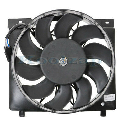 Radiator Cooling Fan Assembly for 1995-1996 Jeep Cherokee SUV 4.0L 52079444AB