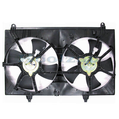 Radiator A//C Dual Cooling Fan for 01-04 Tribute Escape 2.0L