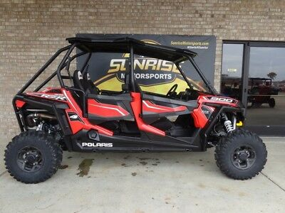 2015 Polaris® RZR® 4 900 EPS Havasu Red Pearl  301 Miles red