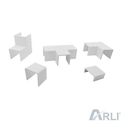 Arli Cable Channel Accessories T Connector Conclusion ELBOW JOINT INSIDE OUTSIDE