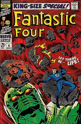 Fantastic Four Annual #6 (1968) - Kirby Art - 1st Annihilus & 1st Franklin