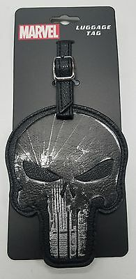 Marvel  the punisher  luggage tag