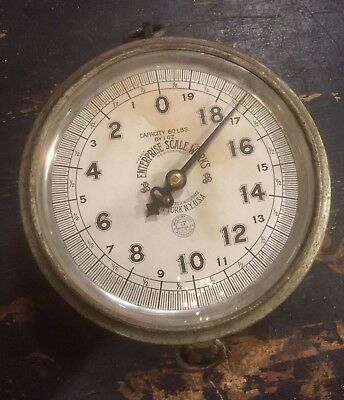 Antique Hanging Enterprise Scale Grocery Produce Store