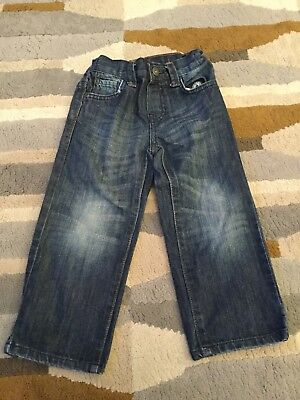 BHS Boys Duck and Dodge Blue Jeans - Age 3 yrs