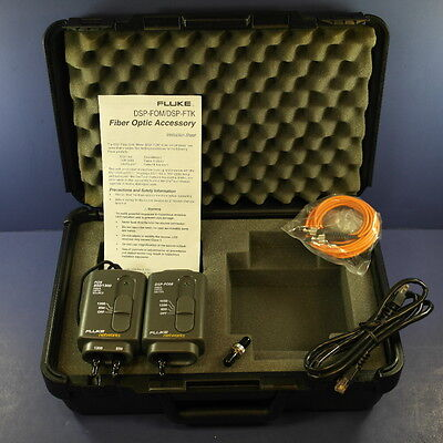 New Fluke DSP FOM FOS 850/1300 1550, 1300, 850 set, Hard Case