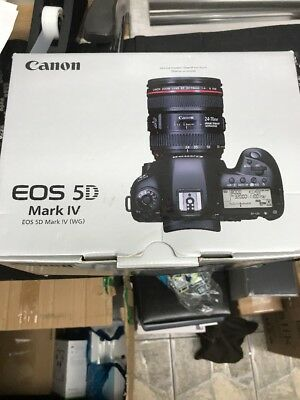 NEW Canon EOS 5D Mark IV 30.4MP Digital SLR Camera USA (Body Only) USA MODEL