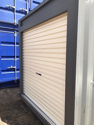 10ft Shipping Containers, Cargo Worthy, with Roller Door, Made to Order