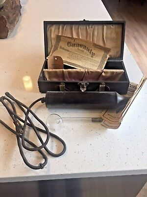 1920's Vintage Renulife Ultraviolet Therapy Machine, Collectible - Working