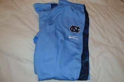 Men Nike Therma Fit UNC North Carolina Tar Heels Lacrosse Warm Up / Sweat Pants