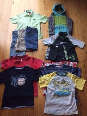 BOYS Summer Size 5 x 11 items incl GAP, COUNTRY ROAD & PUMPKIN PATCH - BARGAIN!