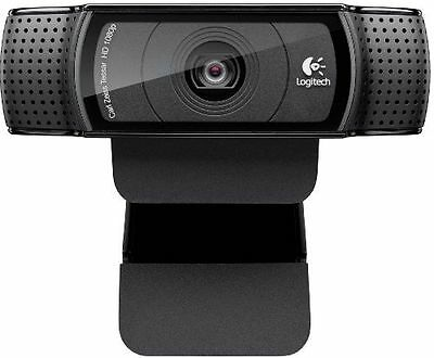 NEW UK STOCK Logitech HD Pro C920 Webcam 1080p Youtube Skype + 1 Year Warranty