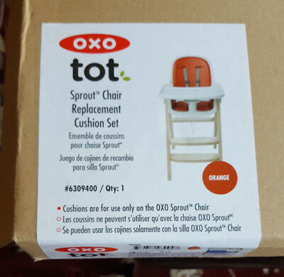 Replacement Cushion Set for OXO Tot® Sprout™ High Chair Orange