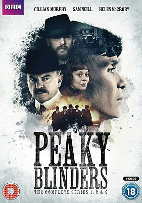 Peaky Blinders Series 1-3 DVD-Region 2 Brand New & Sealed-FREE & FAST DELIVERY