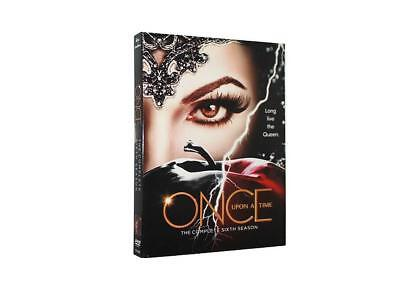 Once Upon A Time The Complete Sixth Season 6 (DVD, 2017,5-Disc Set) US seller