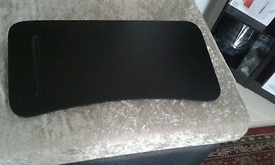 Black laptop lap desk