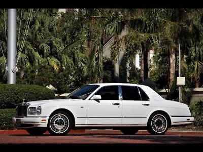 2000 Rolls-Royce Silver Seraph 23K Miles WHITE ONLY 23K MILES SUNROOF CHROMED WHEELS PICNIC TABLES CLEAN CARFAX