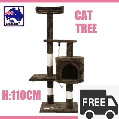 1.1M Cat Scratching Post Tree Gym House Condo Furniture Scratcher Pole PP