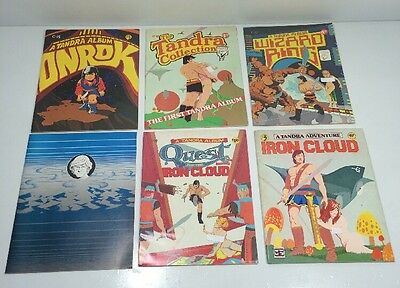 Tandra Graphic Album Series by Hanther Lot of 6