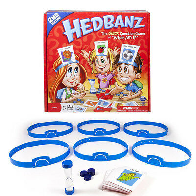 Hedbanz Game The Quick Question Game of What Am I for Kids Funny Board Game