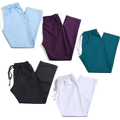 Medical Nurses Doctors Uniform Scrub Work Trousers Pants Hospital Uniform