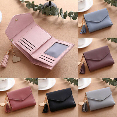 AUStock Ladies Leather Wallet Womens Clutch Card Holder Coin Purse Small Handbag