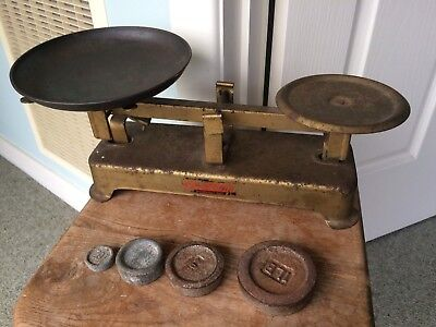 Fairway Domestic Scales Kitchen Vintage Antique