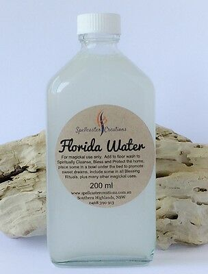 Florida Water 200ml Large - Blessing in A Bottle - Magic Wicca