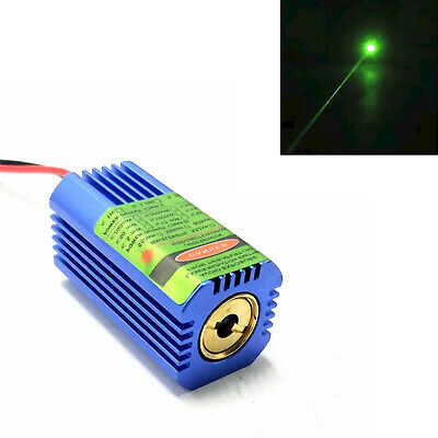532nm 50mW Laserdiode Modul Grün High Power Lazer Punktstrahl w / Glaslinse