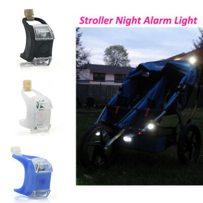 New LED Silicone Caution Light Lamp For Baby Stroller Night Out Safety