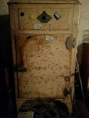1930s Westinghouse Refrigerator ice box - converted to a safe.