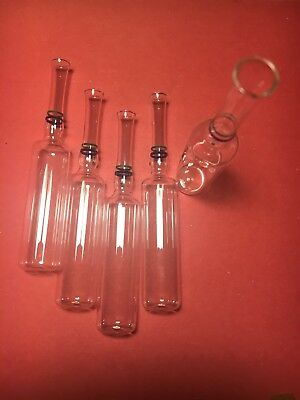 10ml Empty Glass Ampules Ampoules Set of 5