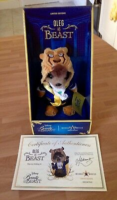 Oleg As Beast Compare The Market Plush Toy. Brand New. Beauty And The Beast