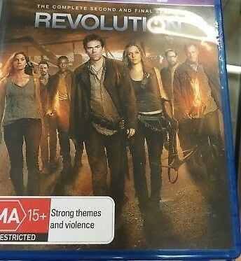 Revolution The complete Second and Final season BluRay - LIKE NEW FREE POSTAGE