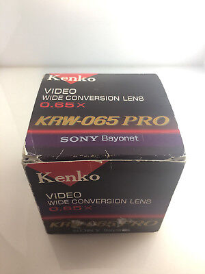 Kenko KRW-065 PRO Wide Conversion Lens 0.65x (for Sony)