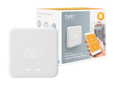 tado starter kit heizk rper thermostat neu in ovp eur 122 00 picclick de. Black Bedroom Furniture Sets. Home Design Ideas