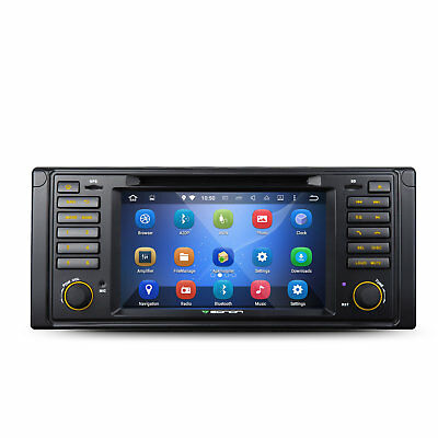 """7""""Android 5.1 Car DVD GPS Stereo Radio Quad-Core Touch WIFI For BMW E39 5 Series"""