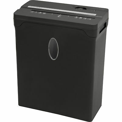 New Sentinel Compact 6 Sheet Cross-Cut Shredder Paper Credit Cards Black
