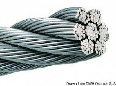 Wire rope AISI 316 133-wire 1.5 mm. Osculati. Delivery is Free