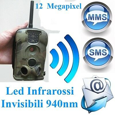 Fototrappola Mms Videotrappola Hunting Scouting Trial Scout Keep Guard Camera