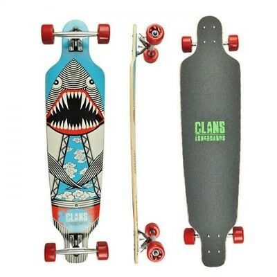 Clans Longboard Skateboard Downhill Cruiser Birthday Idea