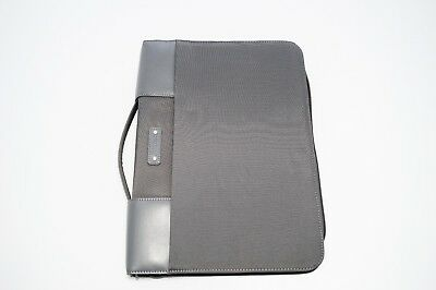 Filofax A4 Microfiber Zipped Folio with Handle - Grey