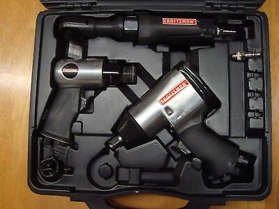 Craftsman 916852 Air Tool Set Air Compressors Tools Hammer Rachet Impact Wrench