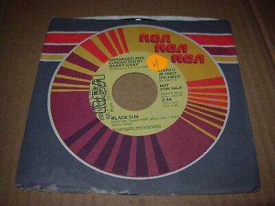 """BARRY GRAY theme from space 1999 / black sun ( r&b ) 7""""/45 PROMO"""