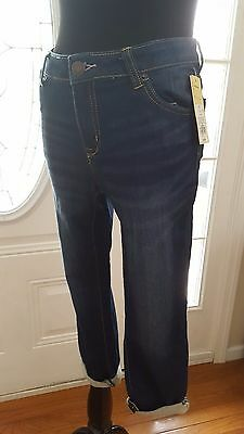 Cherokee Maybell Denim Jeans Skinny Capri/Cropped Girls Size 14 NEW WITH TAGS!!