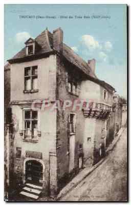 Thouars - Hotel des Trois Rois XIII siecle - CPA