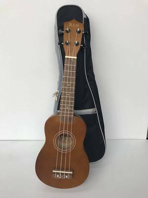 Natural Beginner Soprano Ukulele With Padded Bag