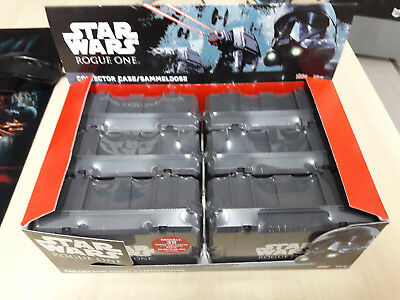 Star Wars Rogue One Display 6 Boxen mit je 39 Karten + je 1 limitierte Karte