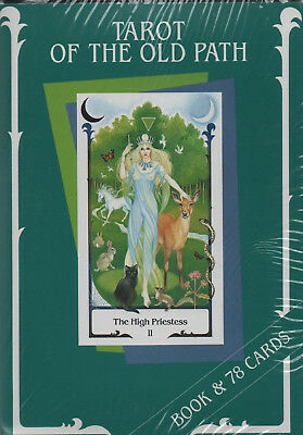TAROT OF THE OLD PATH - Female Energies Tarot - Sylvia Gainsford - BOOK & CARDS